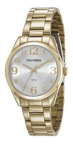 Relógio Mondaine Feminino Dourado 99362lpmvde1 83435lpmvde2