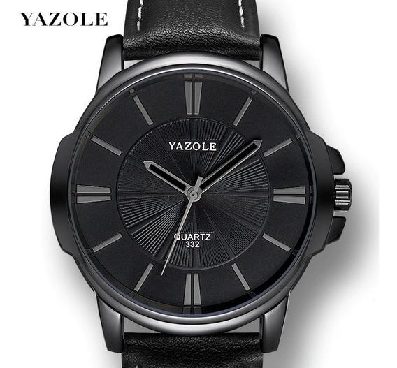 Relógio Masculino Luxuoso Pulso Yazole 332 A Pronta Entrega