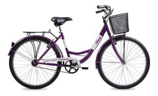 Bicicleta Olmo Dama Primavera 265 Rod 26 Paseo + Mancuernas