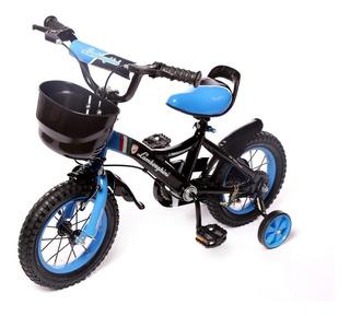 Bicicleta Infantil Rod 12 Lamborghini Rueditas Aluminio 7100