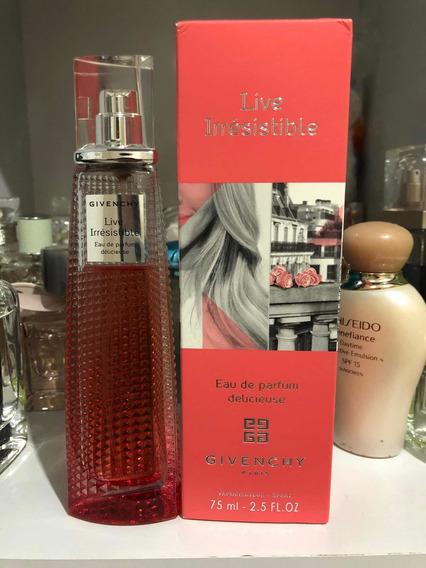 Perfume Very Irresistible Givenchy 75ml Usado