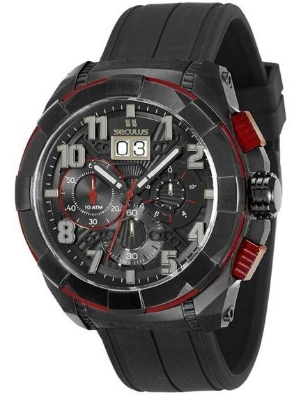Relógio Masculino Seculus Upper Cronógrafo 13009gpsvpu4