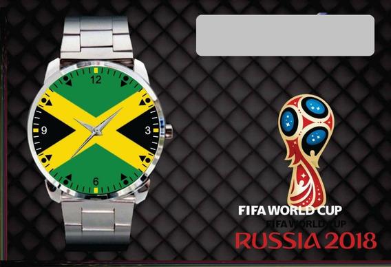 Relógio De Pulso Personalizado Copa 2018 Jamaica