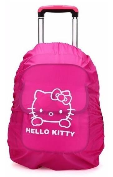Funda Protectora Impermeable Hello Kitty Para Backpack