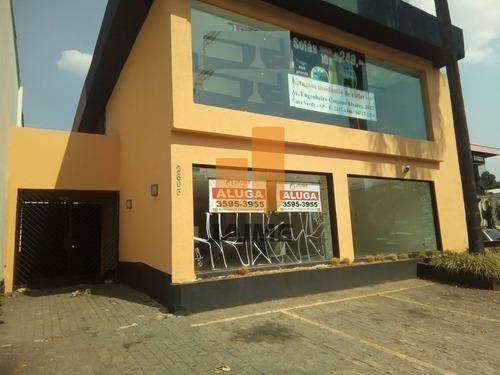 Casa Comercial, 2 Amplos Salões + Edícula - Ja14995