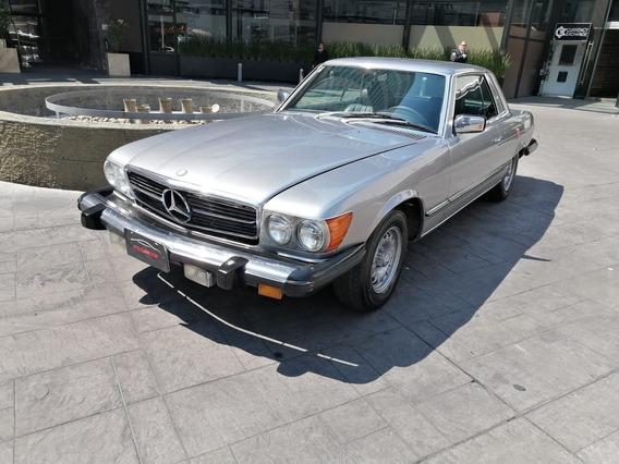 Mercedes Benz 450 Sl C 1977 Plata