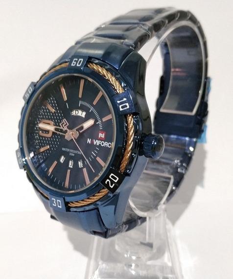 Relógio Masculino Pulseira Aço Importado Resistente Promoção
