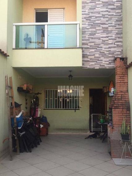 Sobrado Na Vila Formosa Com 3 Dorms Sendo 1 Suíte, 2 Vagas, 107m² - So0496