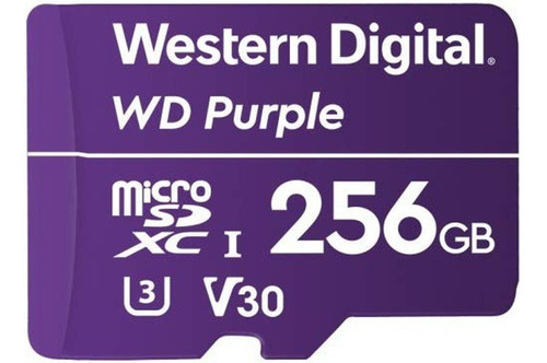 Microsd Wd Purple 256gb Surveillance