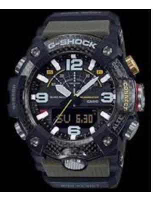 Relogio G-shock Gg-b100-1a3 Verde Carbon Gg-b100 Original