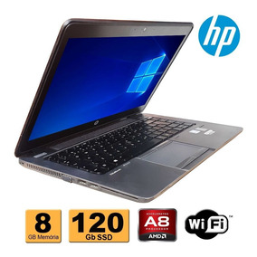 Notebook Hp Elitebook 745 Amd 7150 8gb Ddr3 Ssd 120gb Wifi