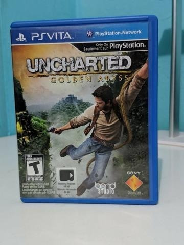 Uncharted Golden Abyss Sony Ps Vita