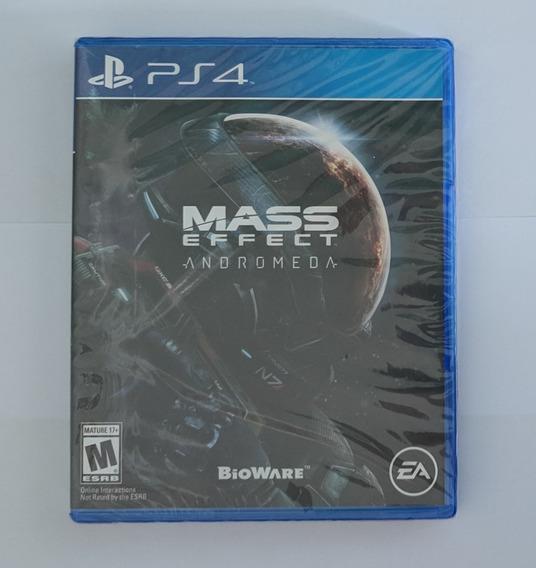Mass Effect Andromeda Ps4 Versão Americana Eua