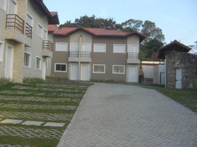 Belíssimos Sobrados Em Condomínio A Venda. 2suítes, 2vgs Garagem, Porcelanato. Granja Viana/cotia. - So0094