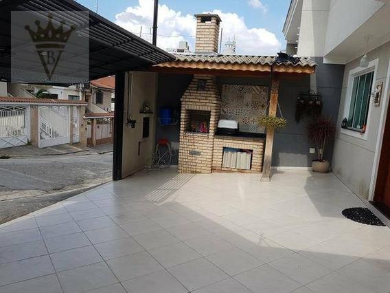 Casa Com 2 Dormitórios À Venda, 120 M² Por R$ 594.000 - Vila Mazzei - São Paulo/sp - Ca0449