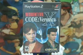 Resident Evil Code Veronica Playstation 2. Dead. No Demo.