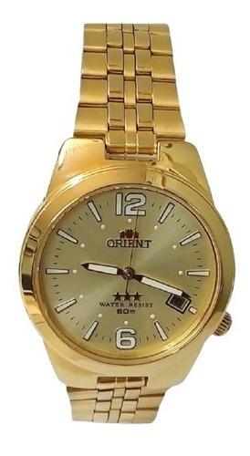 Relógio Orient Automático  Masculino Dourado Er1l-ao