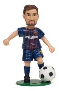Muñeco De Messi Barcelona Futbol Con Movimiento De Pierna