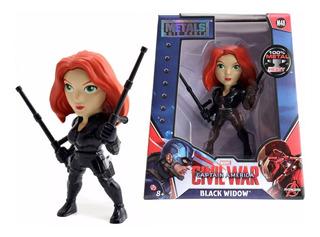 Metals Figura Black Widow 11cm Civil War Marvel Avengers