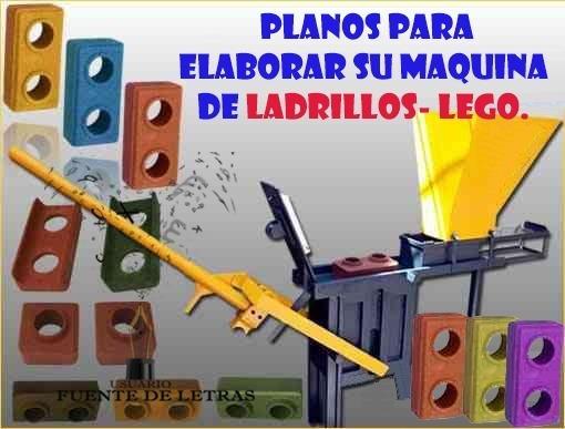Proyecto Maquina Para Hacer Ladrillos Lego Ecológico