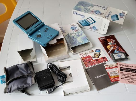 Gameboy Advance Sp Edição Limitada Sword Of Mana