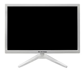Monitor Led 19 Bluecase Branco Bm19x4hvw Vga E Hdmi 110/220v