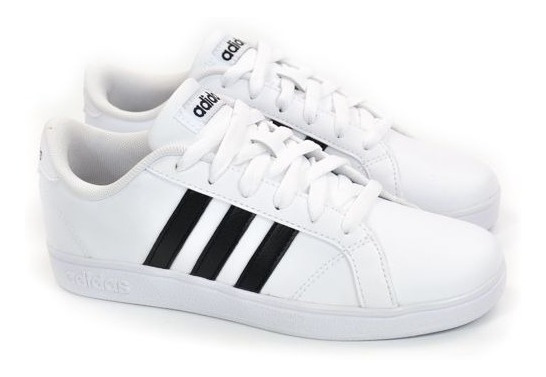 E Tenis Baseline Branco/preto 31a36 adidas 21799