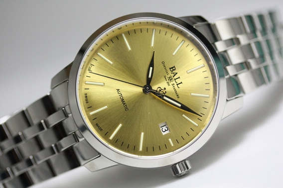 Relógio Ball Trainmaster Legend Date Automatic