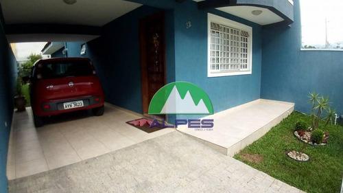Sobrado Residencial À Venda, Hauer, Curitiba. - So0585