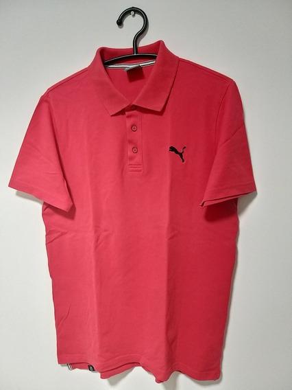 Camisa Polo Puma Salmão