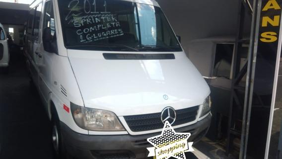 Mercedes-benz Sprinter Van 2.2 Cdi 313 Luxo Teto Baixo 5p