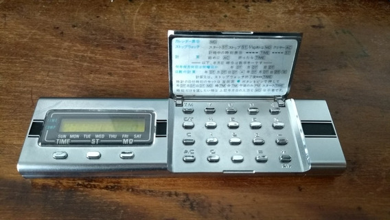 Antiga Calculadora Casio Mq-1 - Mini