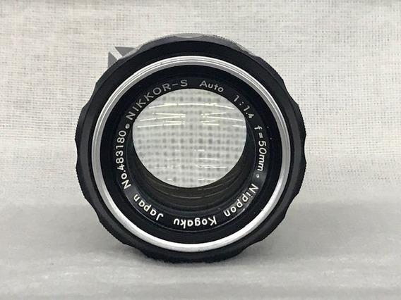Lente Nikon Nikkor-s 50mm 1:1.4(analógica/manual)