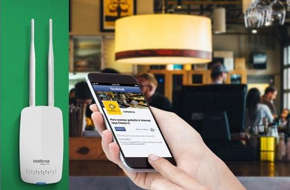 Roteador Intelbras Hotspot 300 Corporativo, 300mbps, 2 Redes