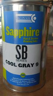 Tinta Para Tampografia Sapphire Gris