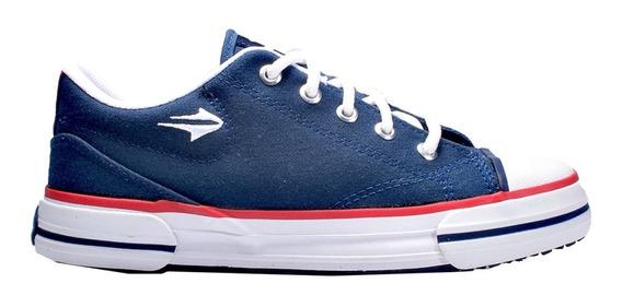 Zapatillas Topper Nova Low - Azul Lona Reforzadas