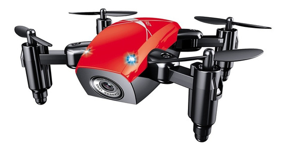 Drone Broadream S9W con câmera HD red