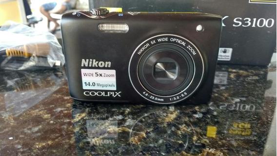 Câmera Digital Nikon S3100 - Coolpix