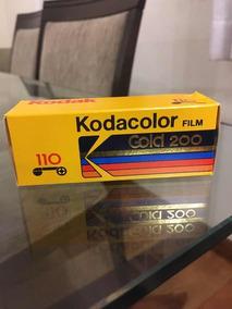 Filme 110 Kodak Kodacolor Gold 200 Venc. 04/1990