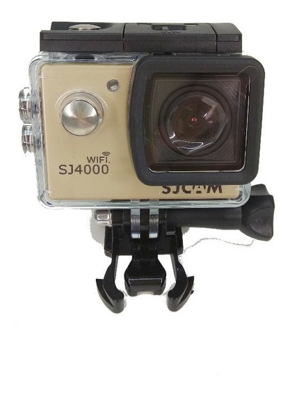Sj4000 Wi-fi Sjcam+microfone Moto Vlog+ Case Extra Patomotos