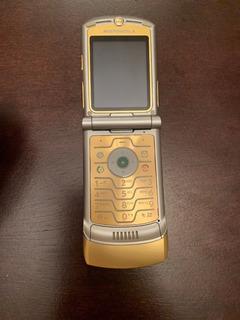 Celular Motorola Razr V3i Gold Edicion Negro And Yellow