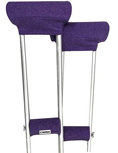 Crutcheze Púrpura Heather Muleta De Pastillas De - Bajo Los