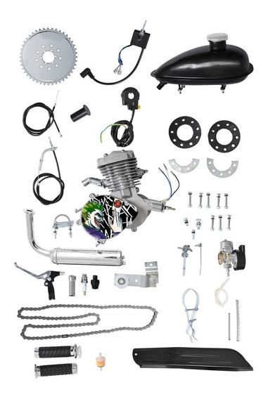 Kit Motor 80cc Para Bicicleta Moskito Original Coringa