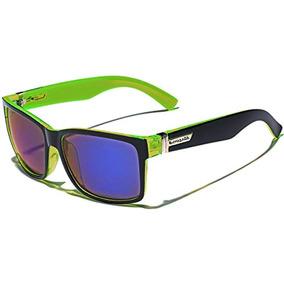 529f951d24 Gafas De Sol Estilo Wayfarer Square Retro 80 Lime