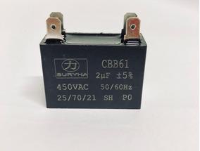Capacitor 2.ufx450v-quadrado(10 Unidades)