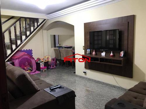 Sobrado Com 3 Dormitórios À Venda, 150 M² Por R$ 370.000,00 - Cangaíba - São Paulo/sp - So2661