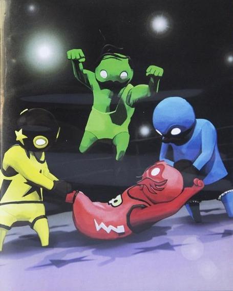 Gang Beasts Ps4 Psn Code 2 Envio Na Hora!!!