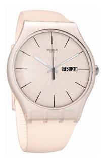 Reloj Swatch Dama Rose Rebel Suot700 + Envio Gratis