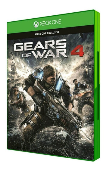 Gears Of War 4 Xbox One Mídia Física