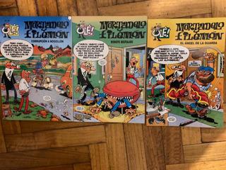 Tres Revistas Mortadelo Y Filemon